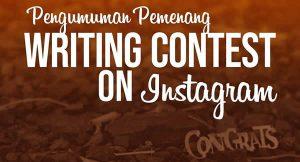 Mahasiswa TF Menjuarai Kontes Menulis Instagram FKMTF Nasional