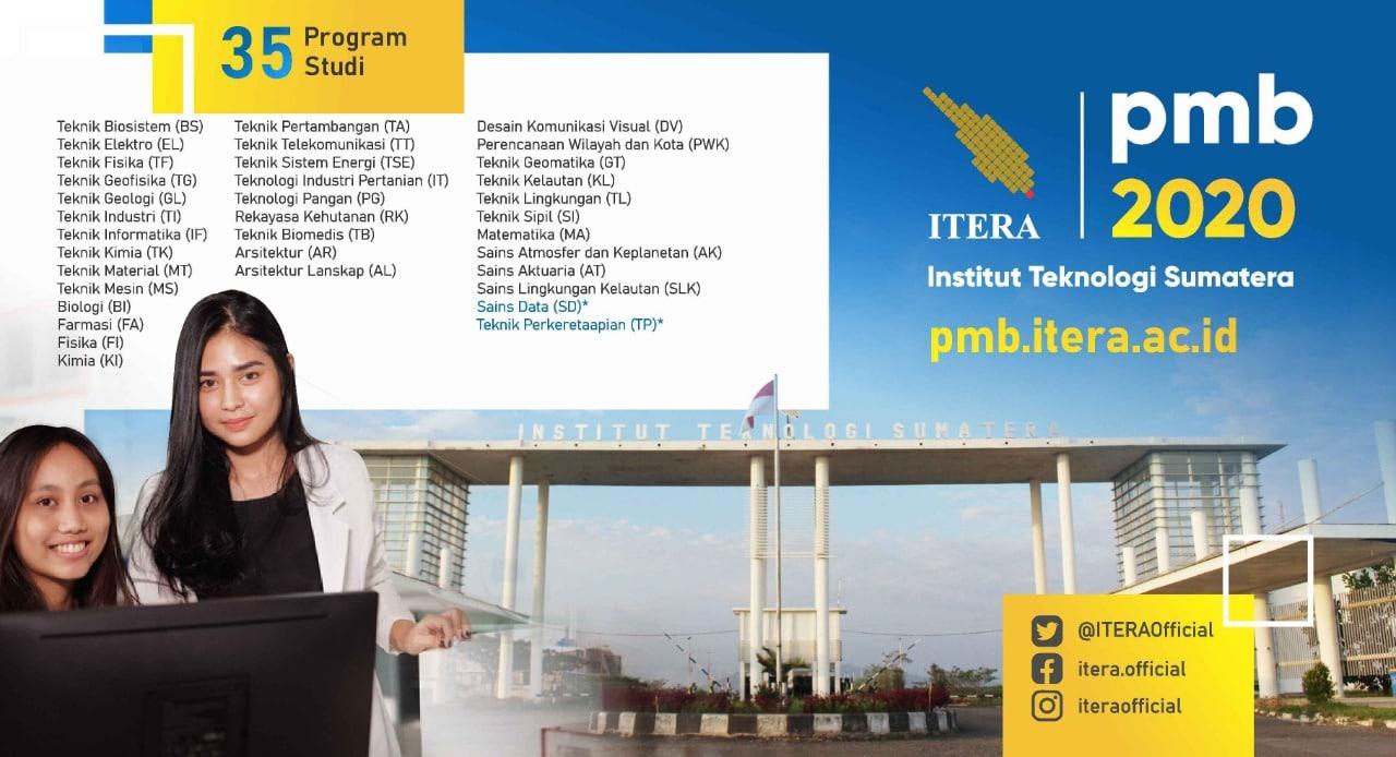 Perbandingan Peminat Teknik Fisika ITERA Tahun 2018 dan 2019