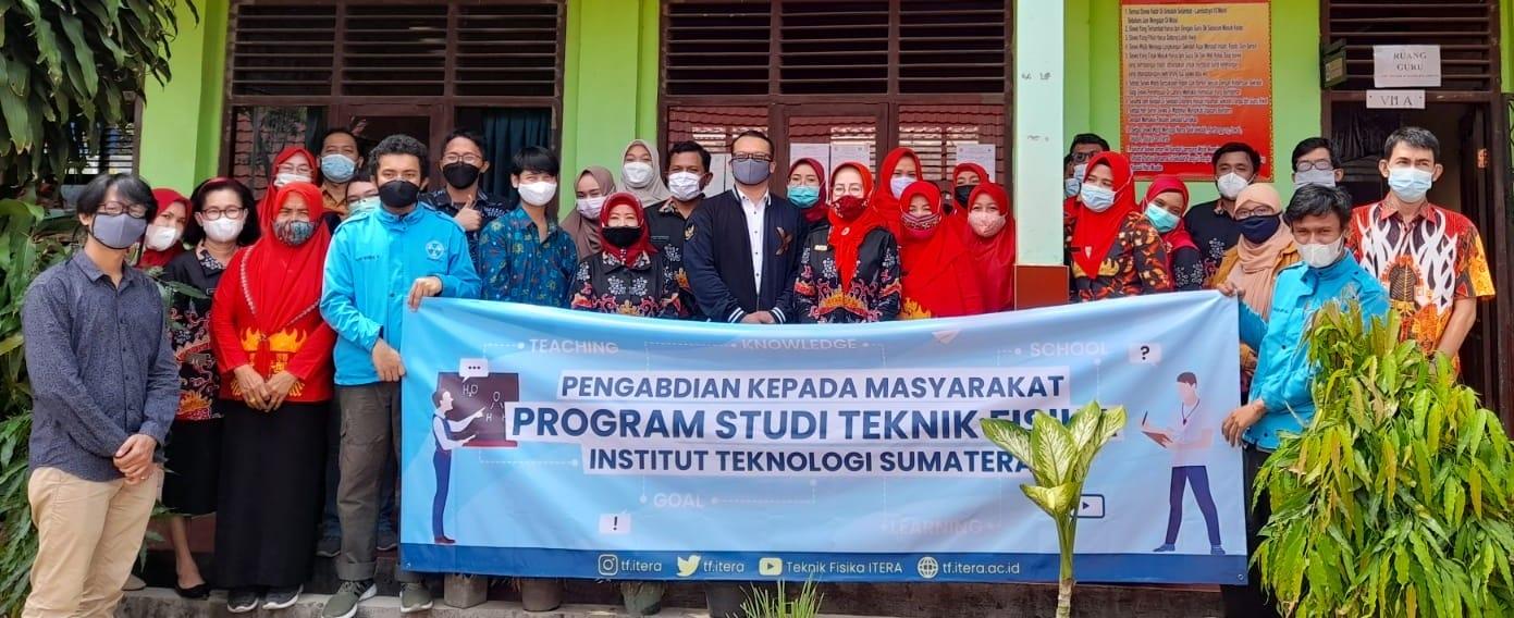Sosialisasi Prodi Teknik Fisika untuk Pembelajaran Daring Bagi Guru SMPN 44 Bandar Lampung